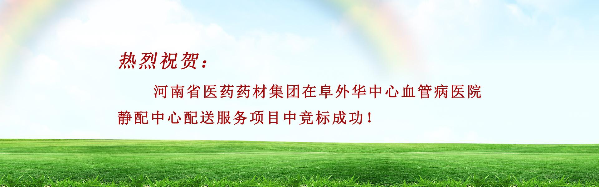 河南省医药药材集团有限公司竞标成功!
