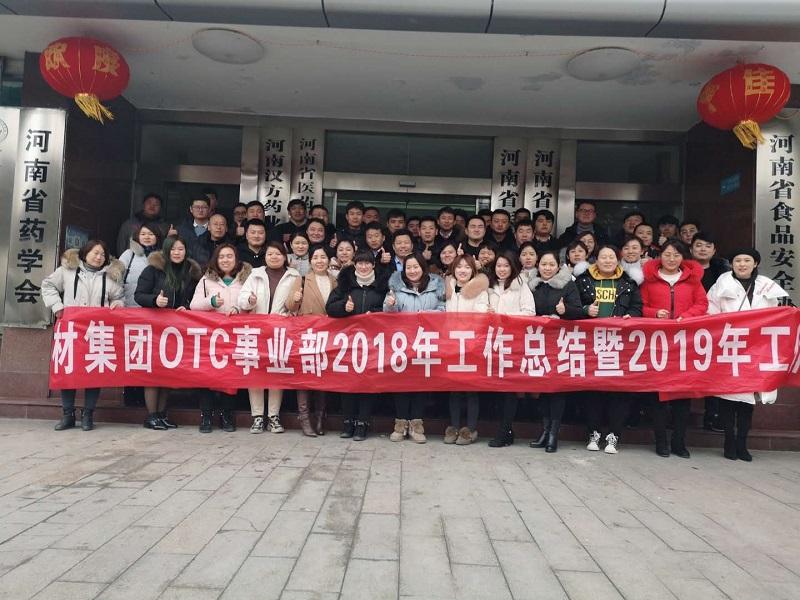 河南省医药药材集团有限公司OTC部年终总结和工作计划会议